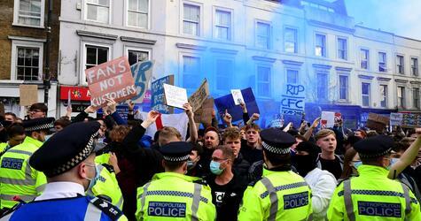 FC Chelsea - Brighton & Hove Albion - Proteste