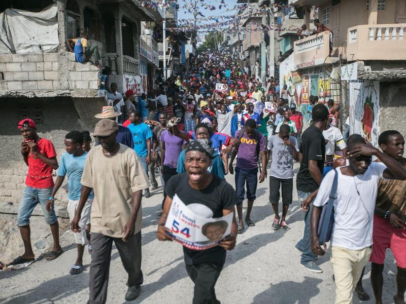 Bild zu Haitianische Opposition