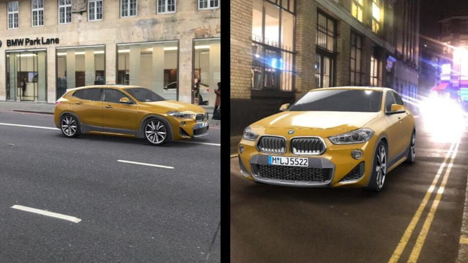 BMW X2 bei Snapchat