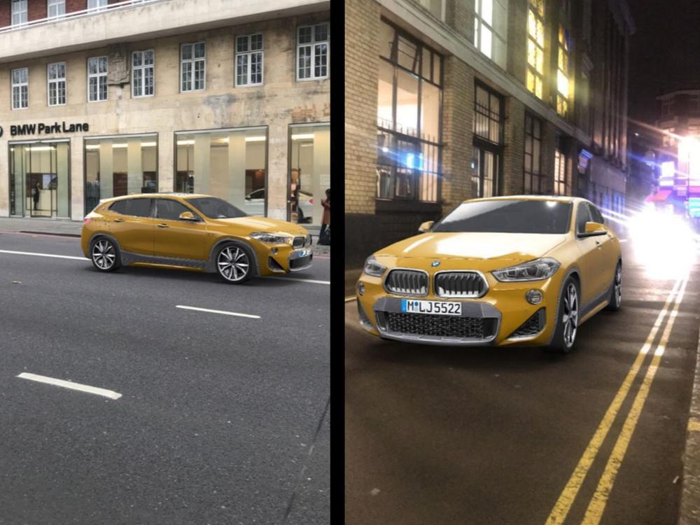 Bild zu BMW X2 bei Snapchat