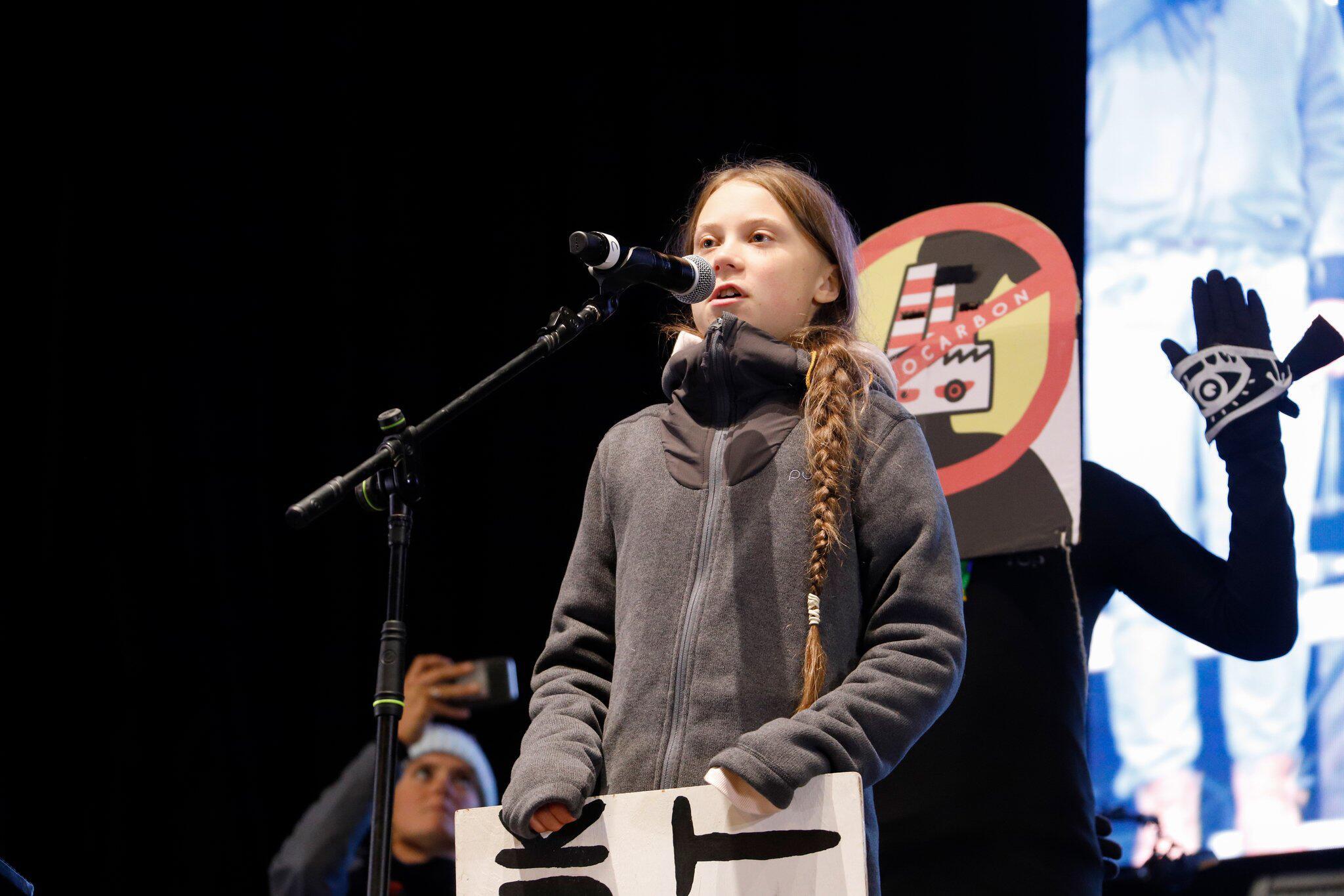 Bild zu 25. UN-Klimakonferenz in Madrid - Protest