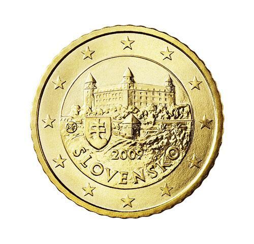 Bild zu 50-Cent-Münze aus der Slowakei
