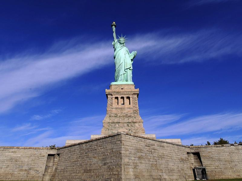 Bild zu Freiheitsstatue in New York