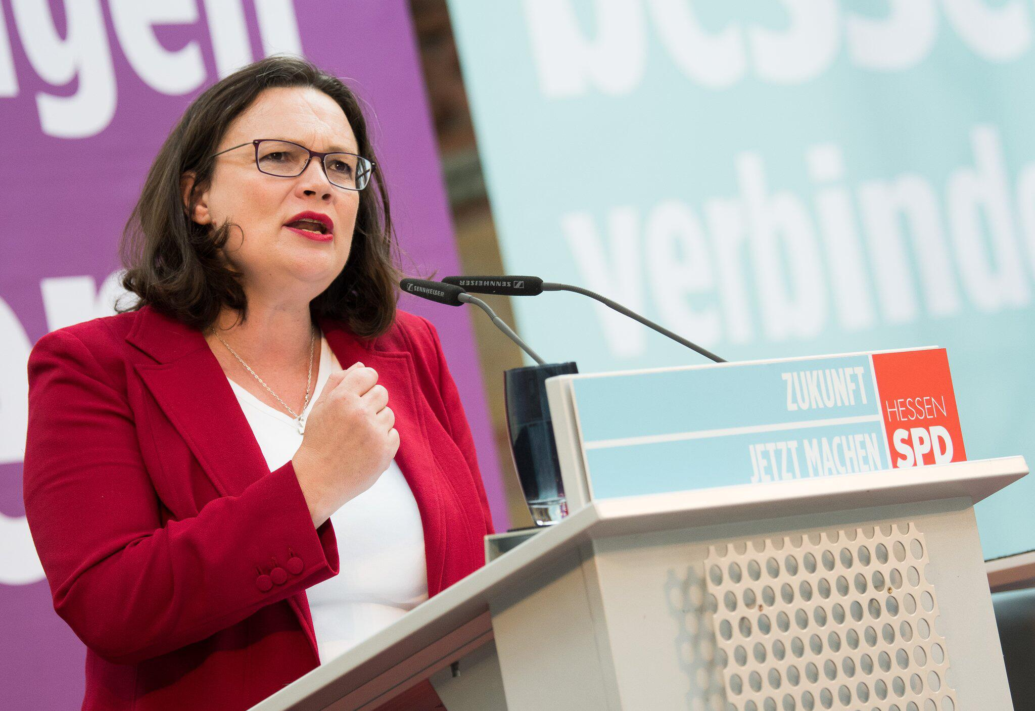 Bild zu Offizieller Wahlkampfauftakt SPD Hessen