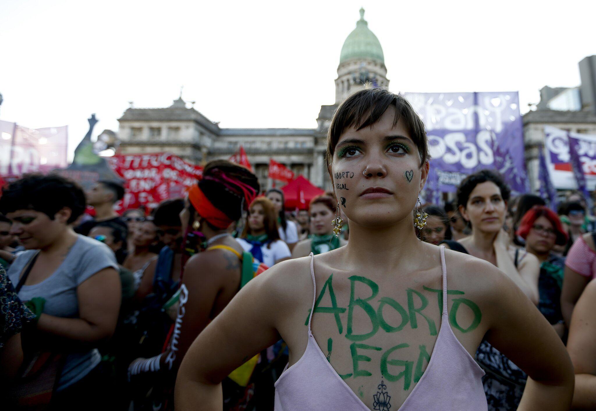 Bild zu Pro-Choice-Demo in Argentinien