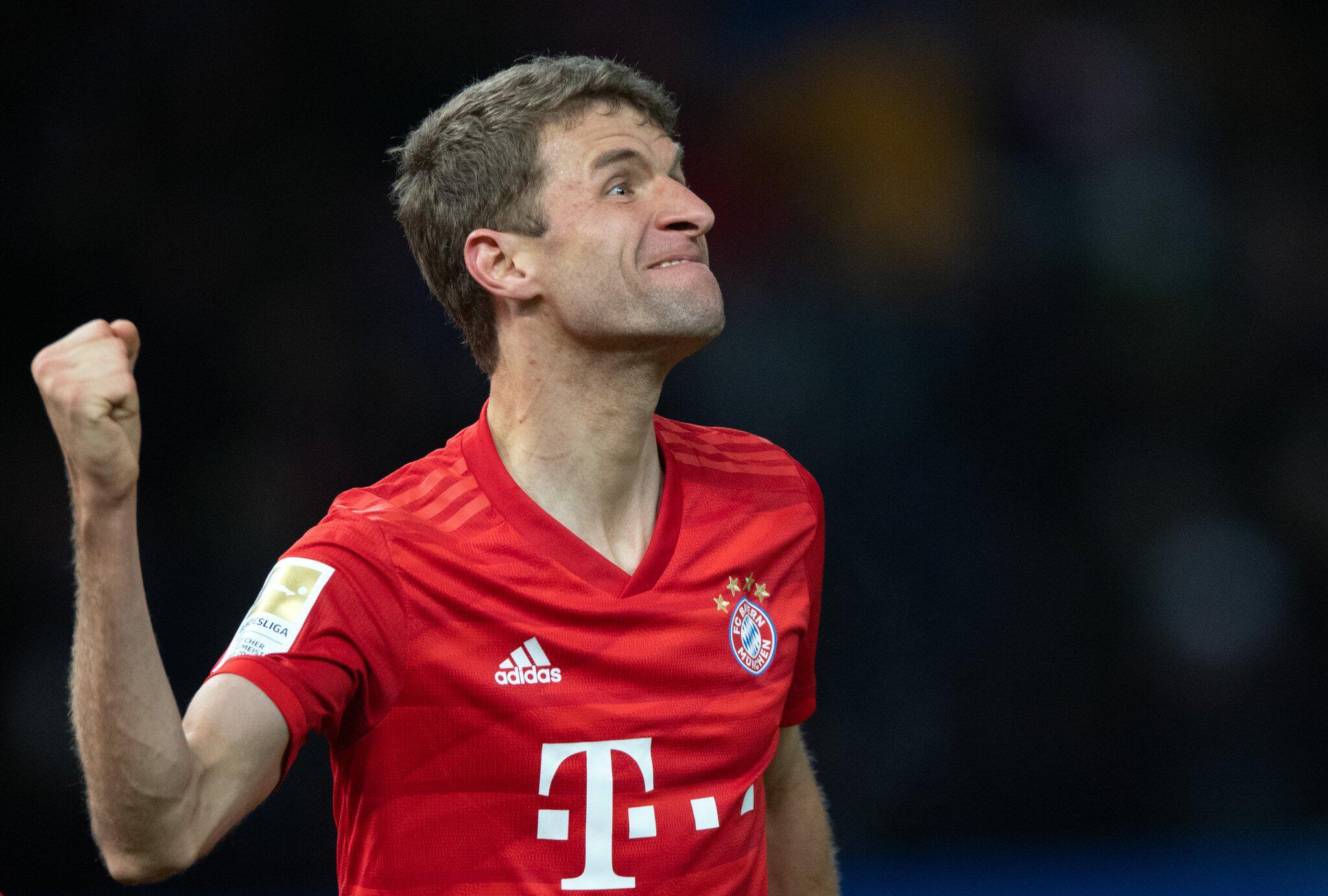 Bild zu Thomas Müller, FC Bayern München
