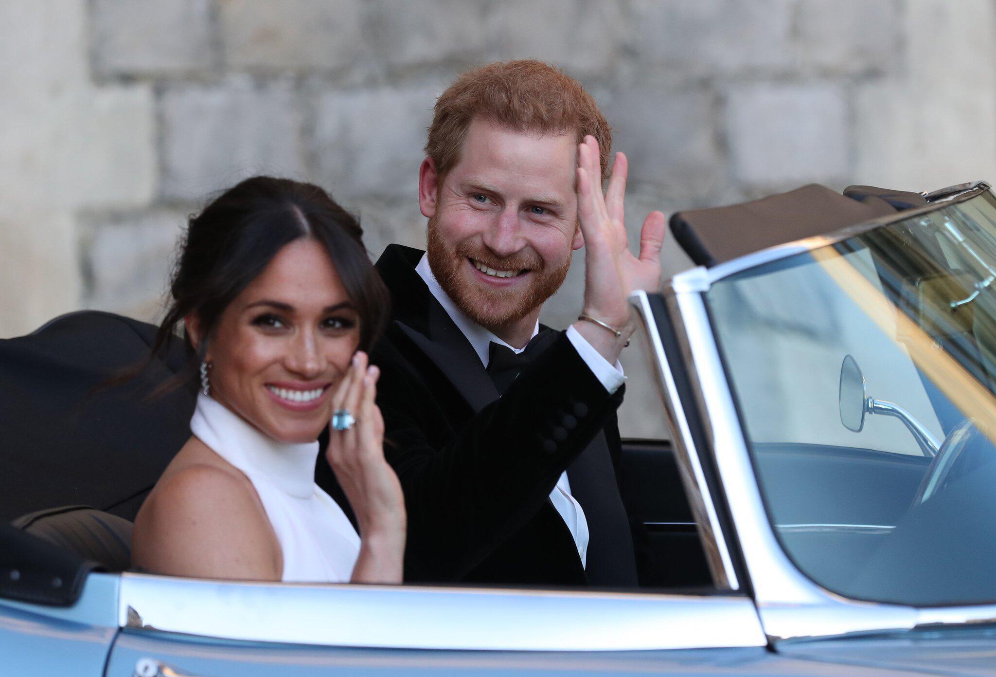 Bild zu Hochzeit Prinz Harry und Meghan Markle