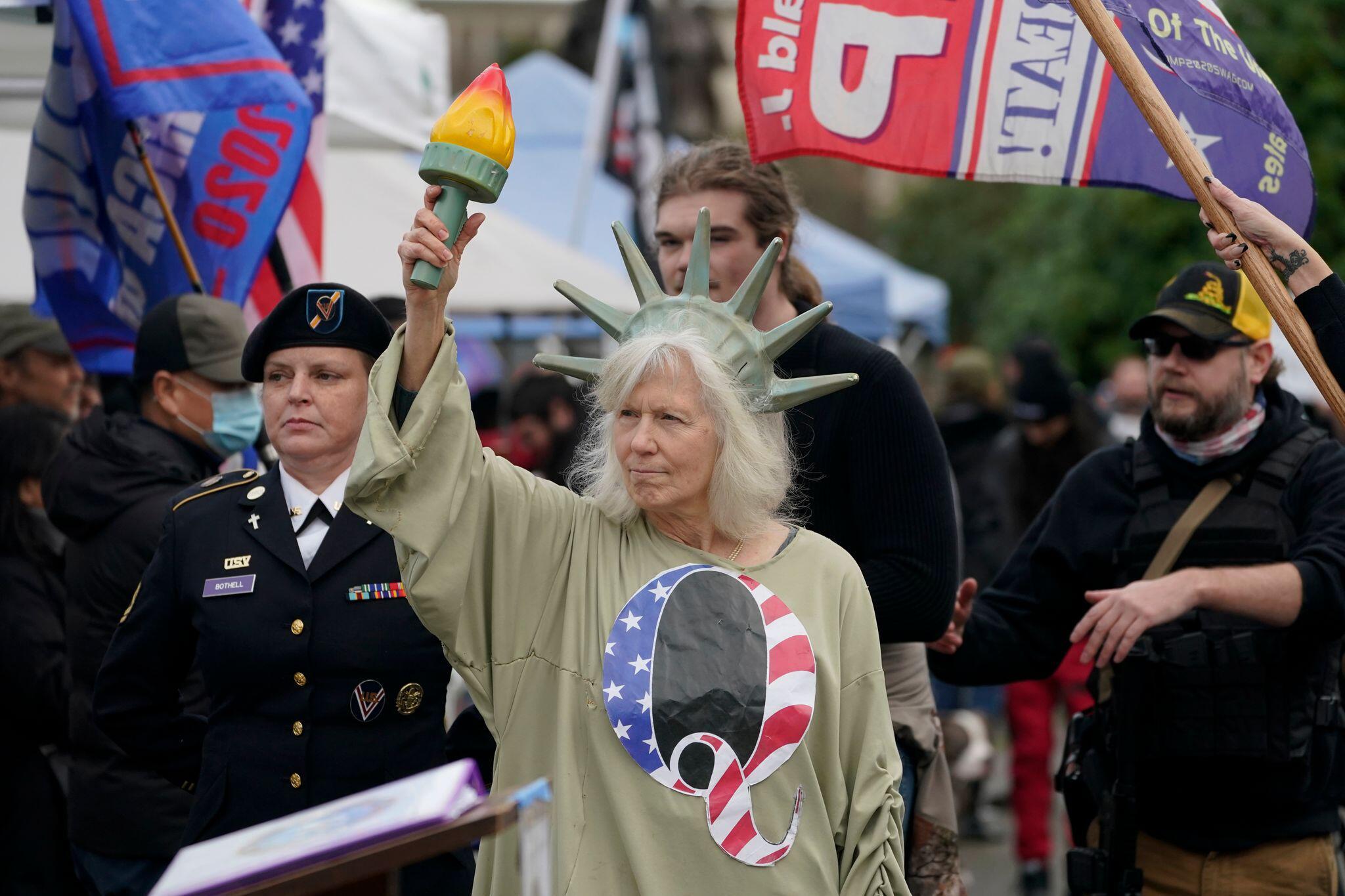 Bild zu Proteste gegen US-Wahlergebnisse