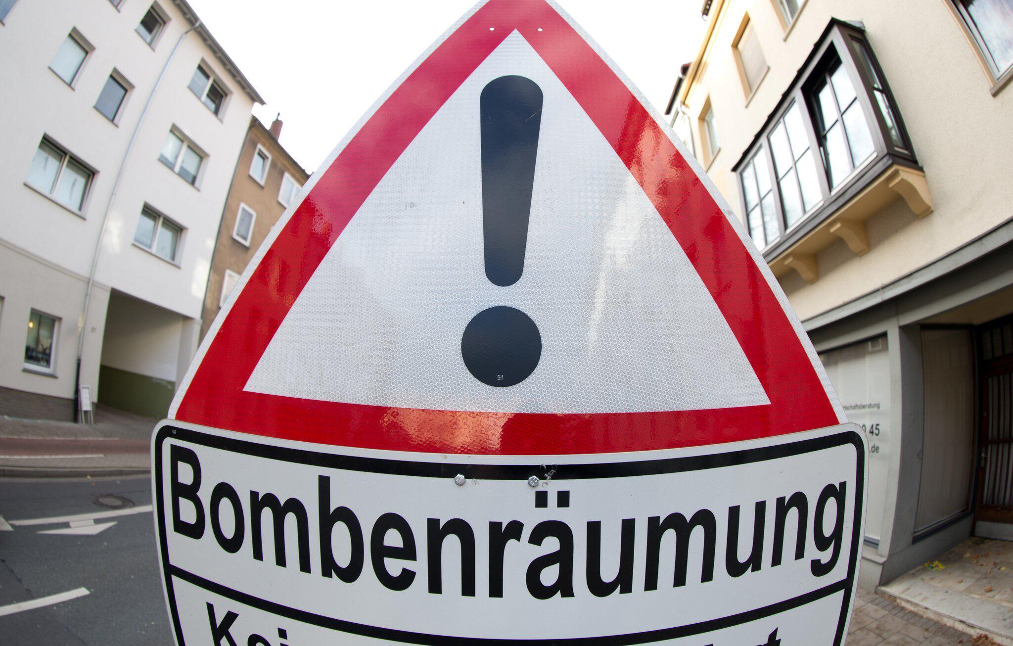 Bild zu Bombenentschärfung