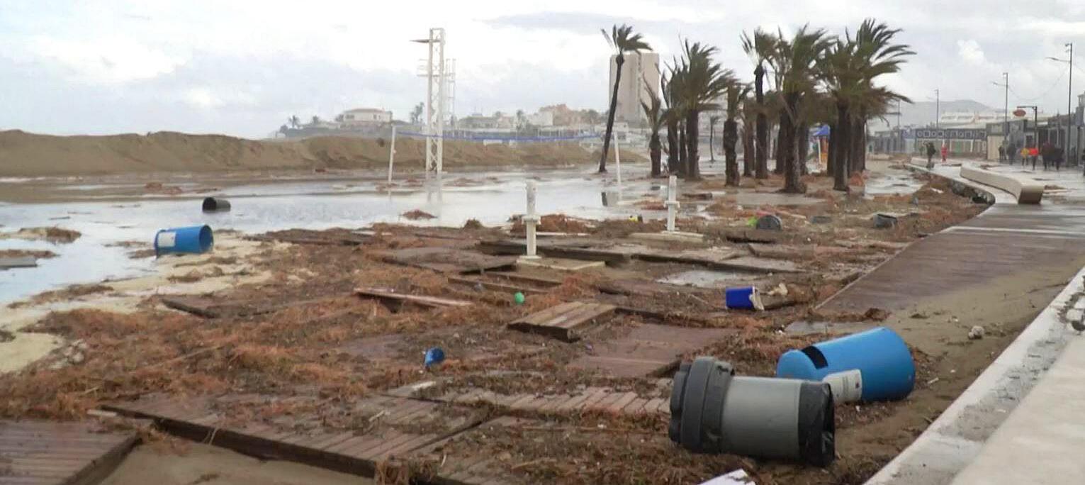 Bild zu Sturmtief Gloria, Spanien, Mallorca