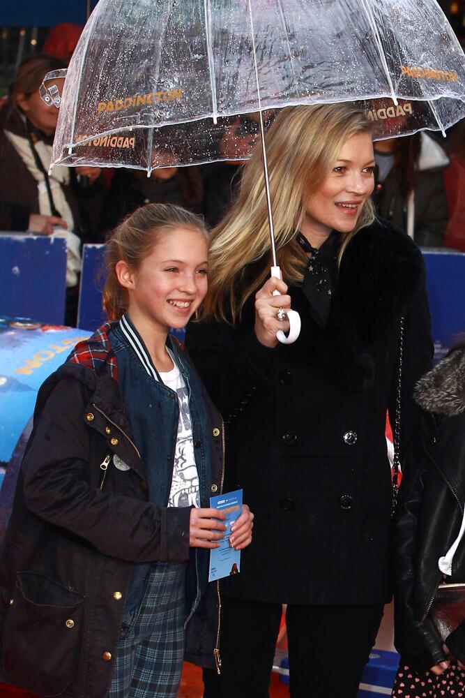 Bild zu Kate Moss mit ihrer Tochter