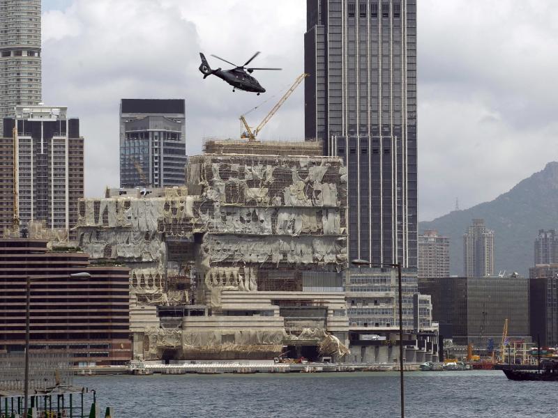Bild zu Nach dem Taifun Hato in Hongkong
