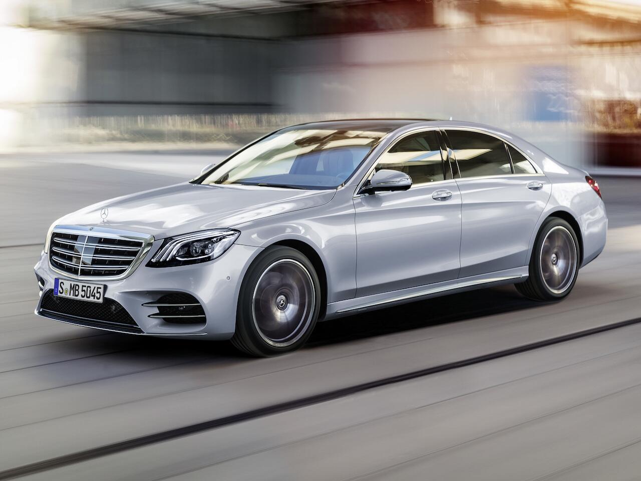 Bild zu Oberklasse: Mercedes-Benz S-Klasse