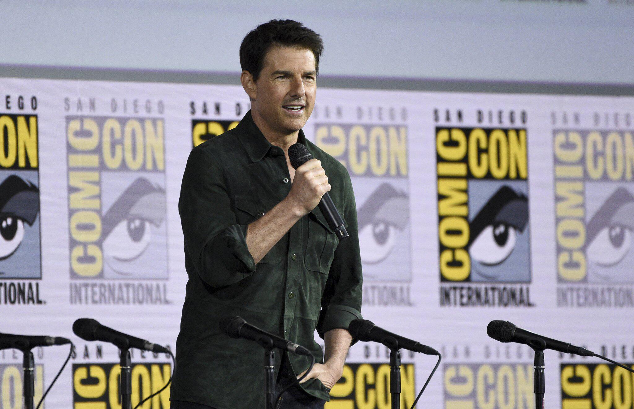 Bild zu Tom Cruise auf Comic-Con-Messe