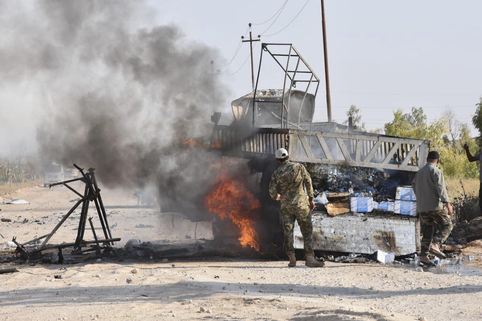 Bild zu Möglicher Drohnenangriff im Irak