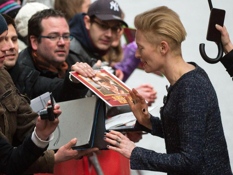 Bild zu 66. Berlinale - Tilda Swinton