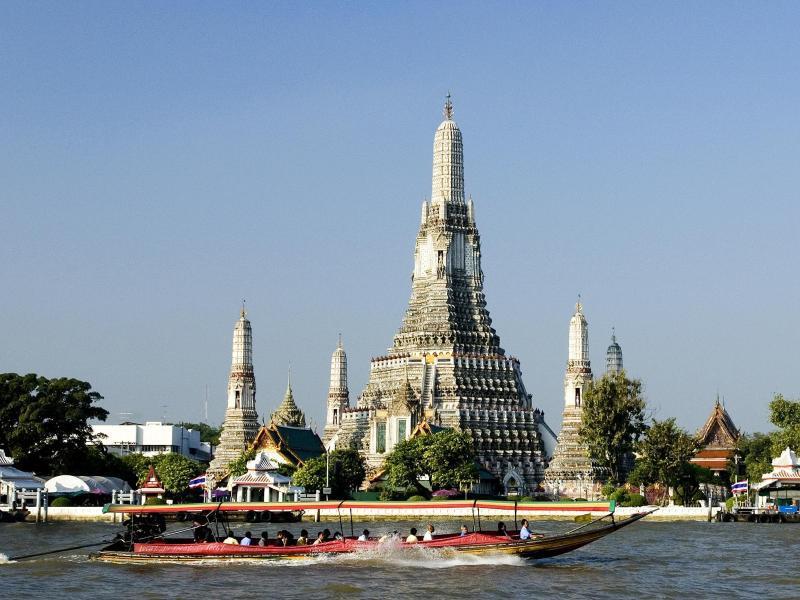 Bild zu Wat Arun in Bangkok