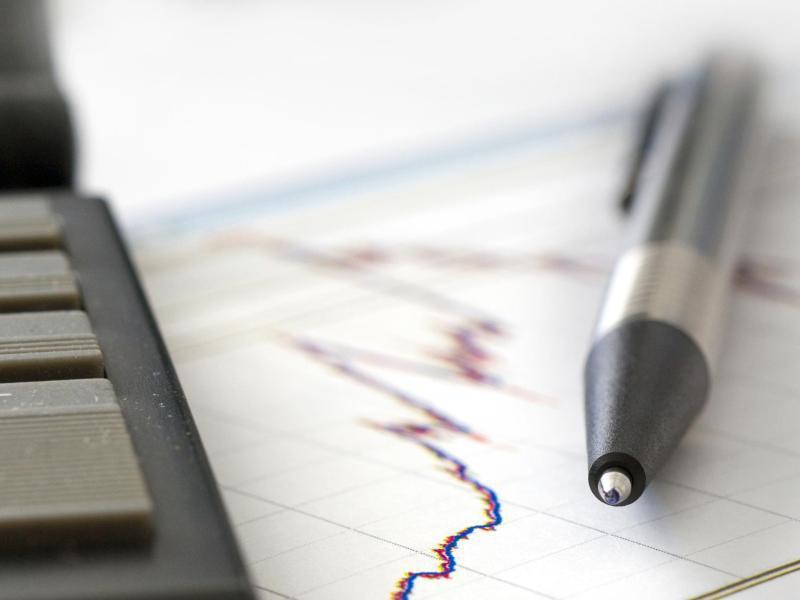 Bild zu Aktienkurve