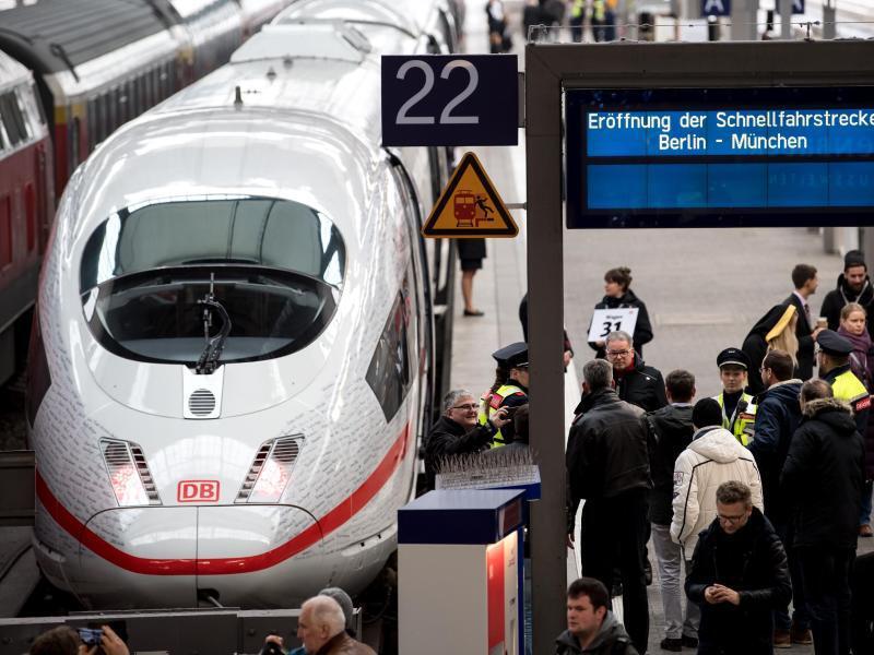 Bild zu Schnellfahrstrecke von München nach Berlin
