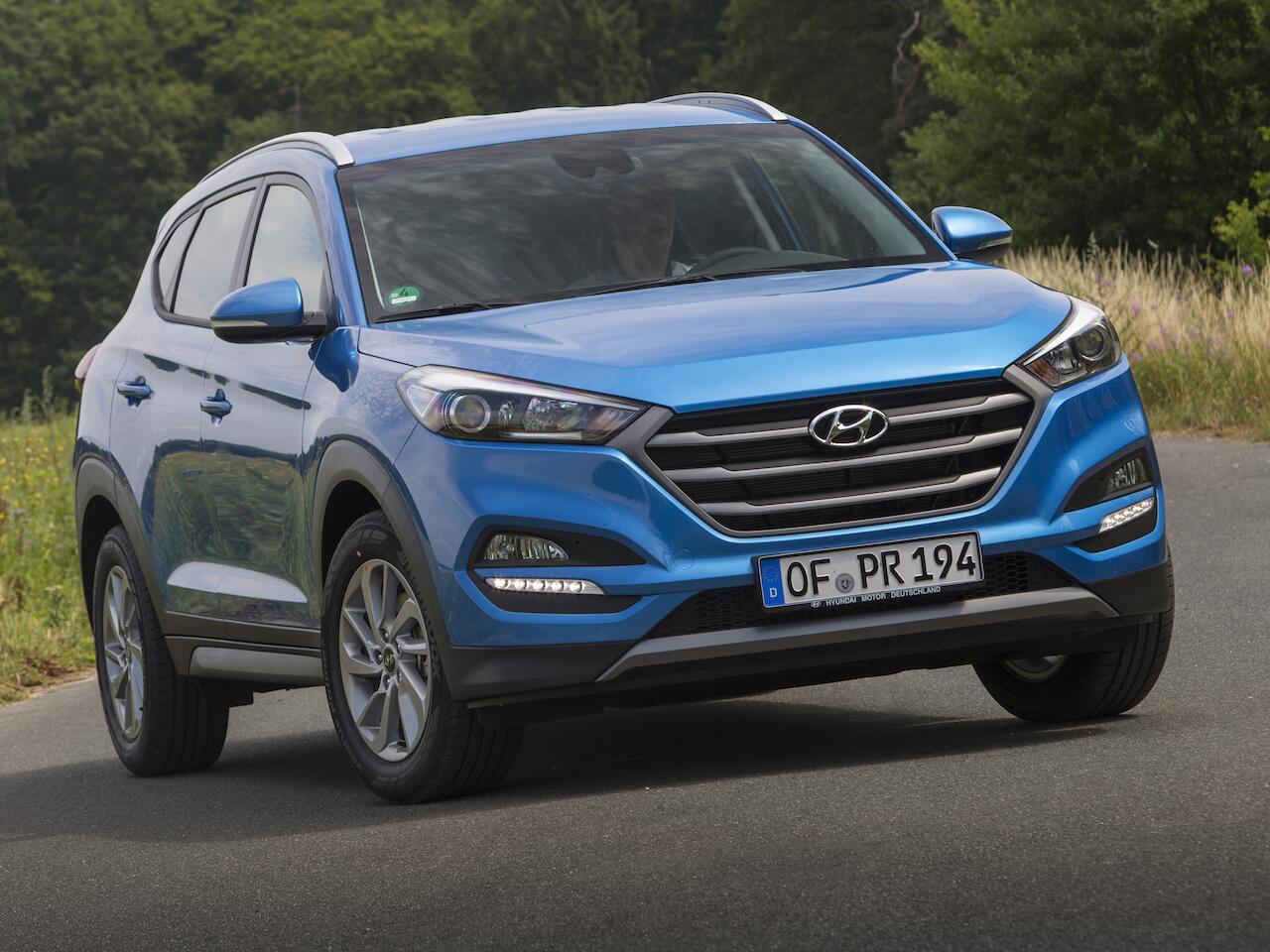 Bild zu Platz 9: Hyundai Tucson