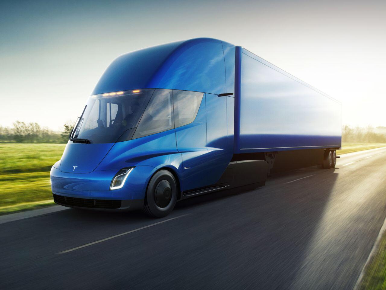 Bild zu Tesla Semi Truck