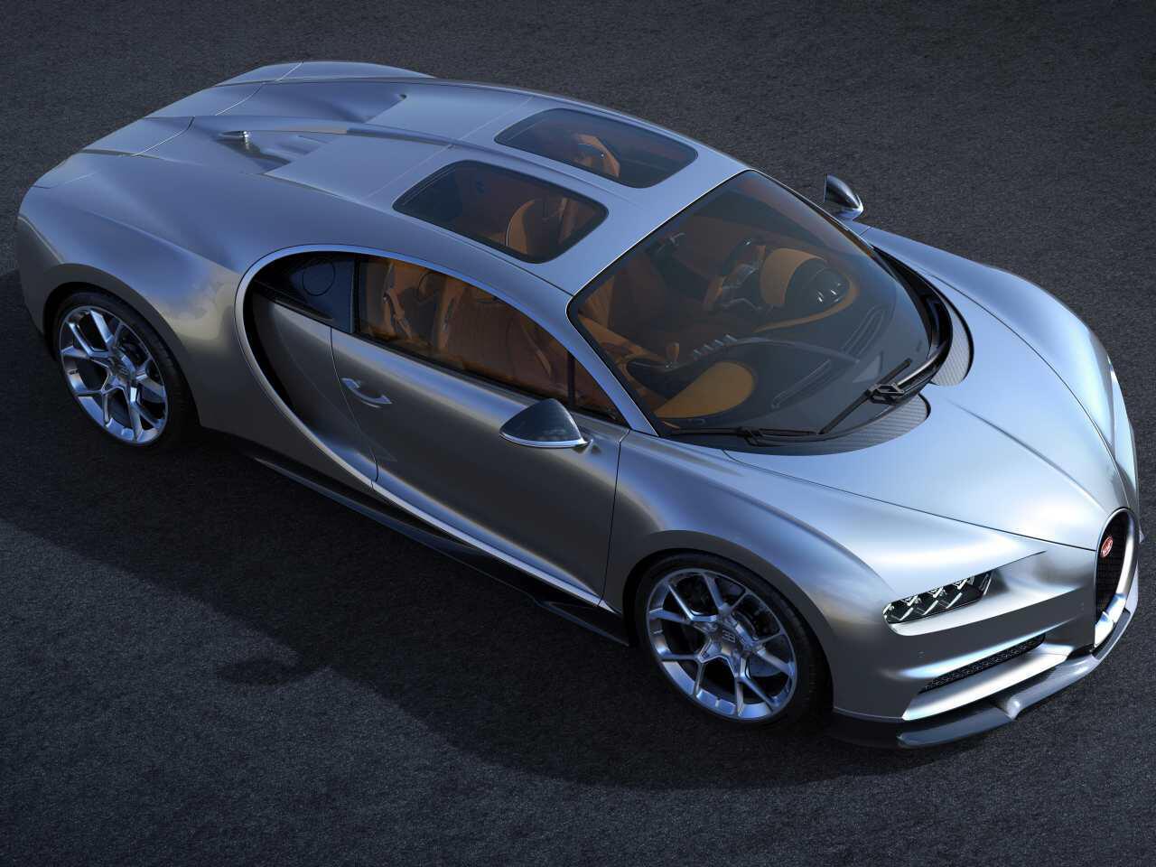 Bild zu Bugatti Chiron Sky View