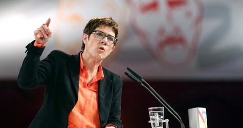 Political Ash Wednesday in Demmin - CDU
