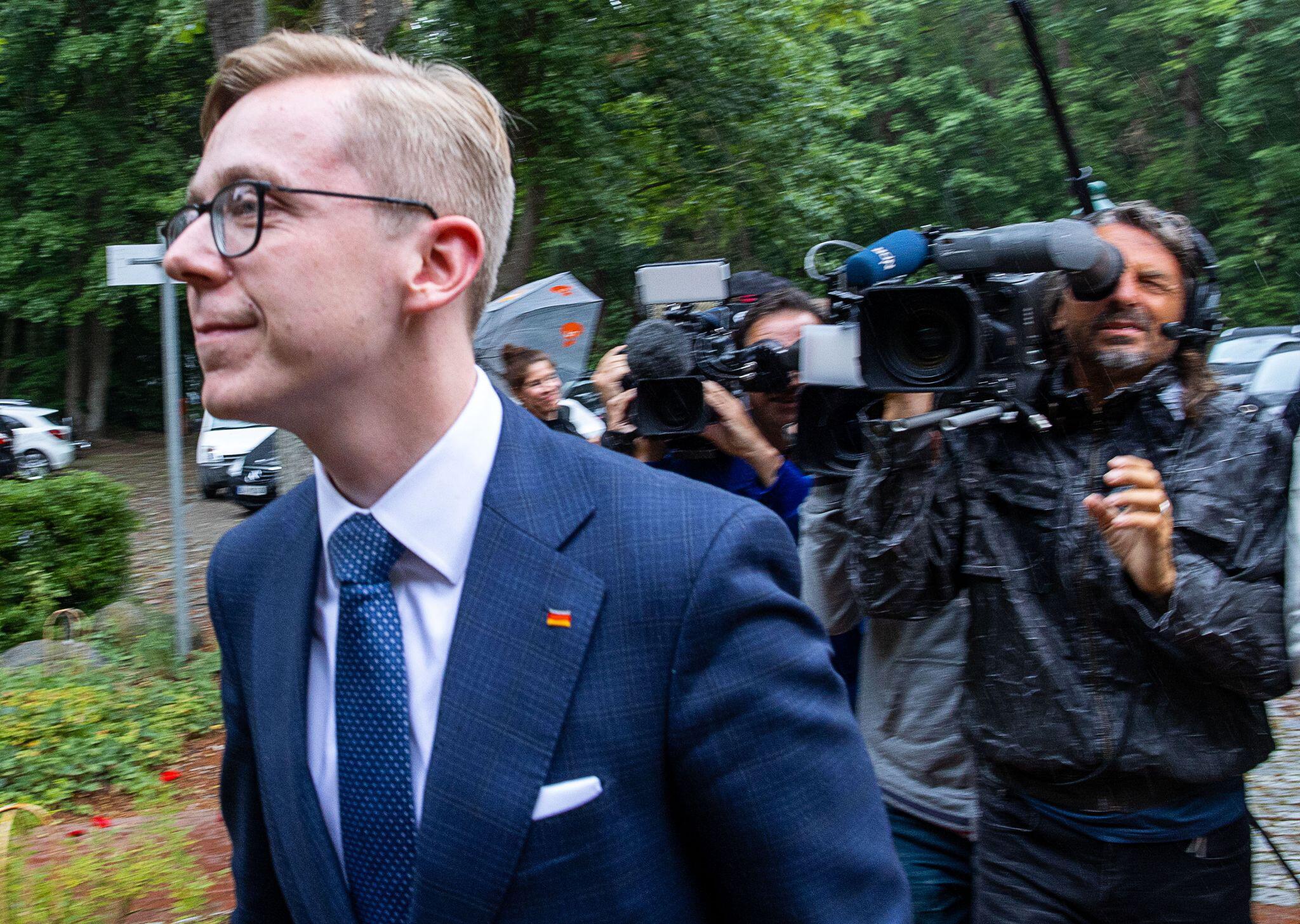 Bild zu Amthor bei CDU-Landesvorstand