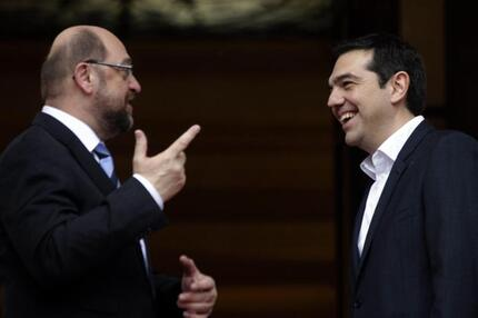 Schulz in Athen