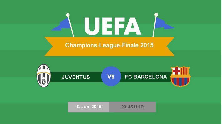 Bild zu Das Champions-League-Finale zwischen Juventus Turin und dem FC Barcelona findet am Samstag statt.