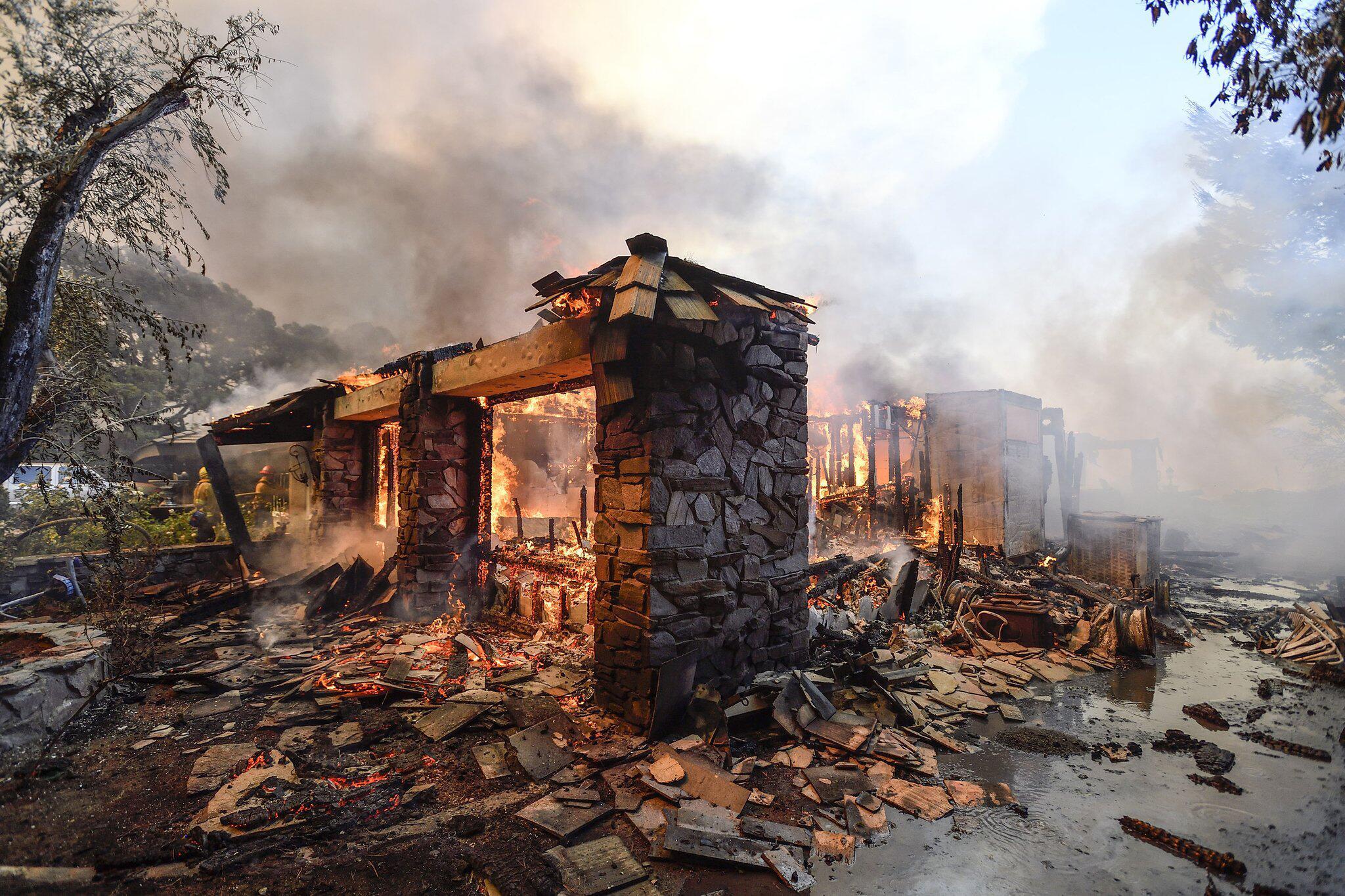 Bild zu Waldbrand in Kalifornien
