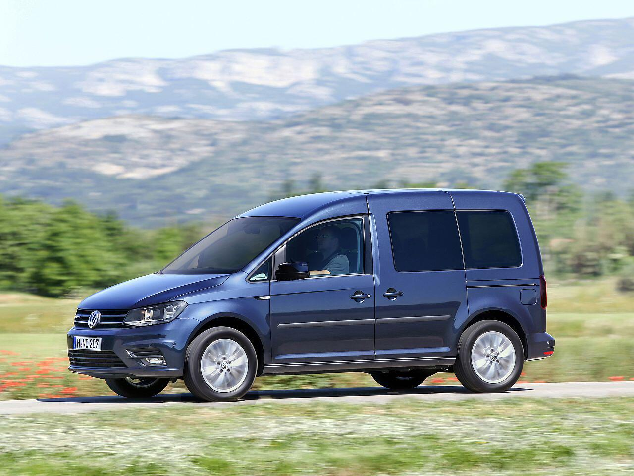 Bild zu Utilities: VW Caddy