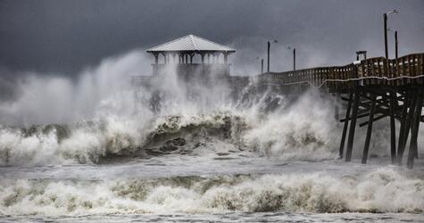Hurricane Florence, USA, Hurrikan 2018