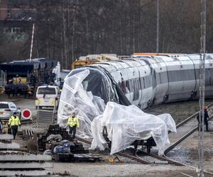 Zugunglück in Dänemark am 2. Januar 2019