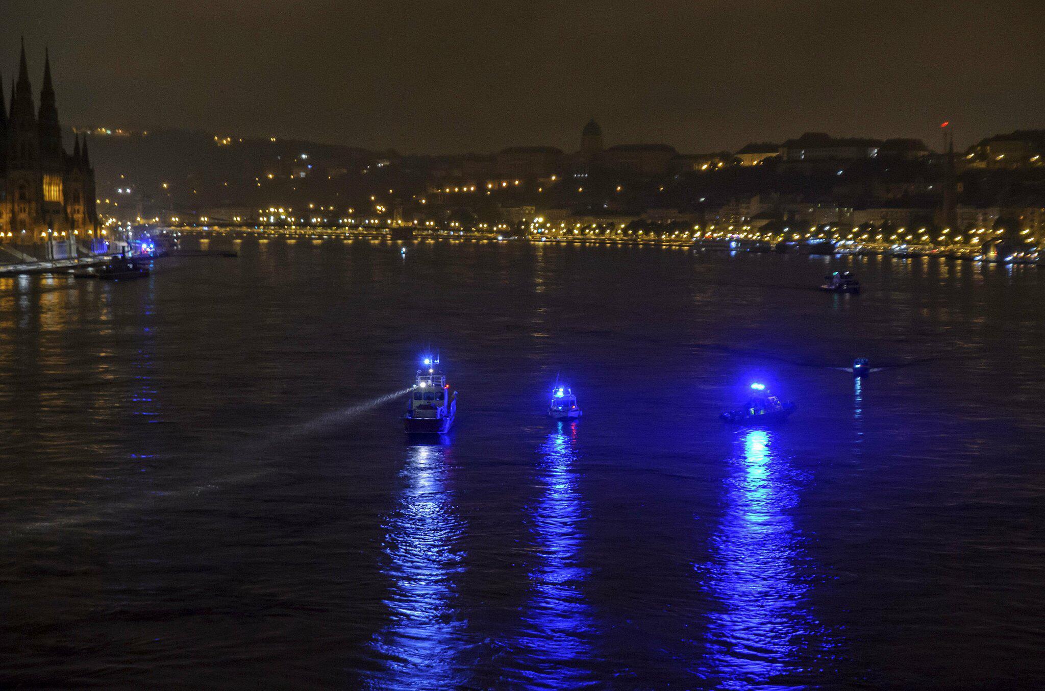 Bild zu Schiffsunglück, Donau, Budapest