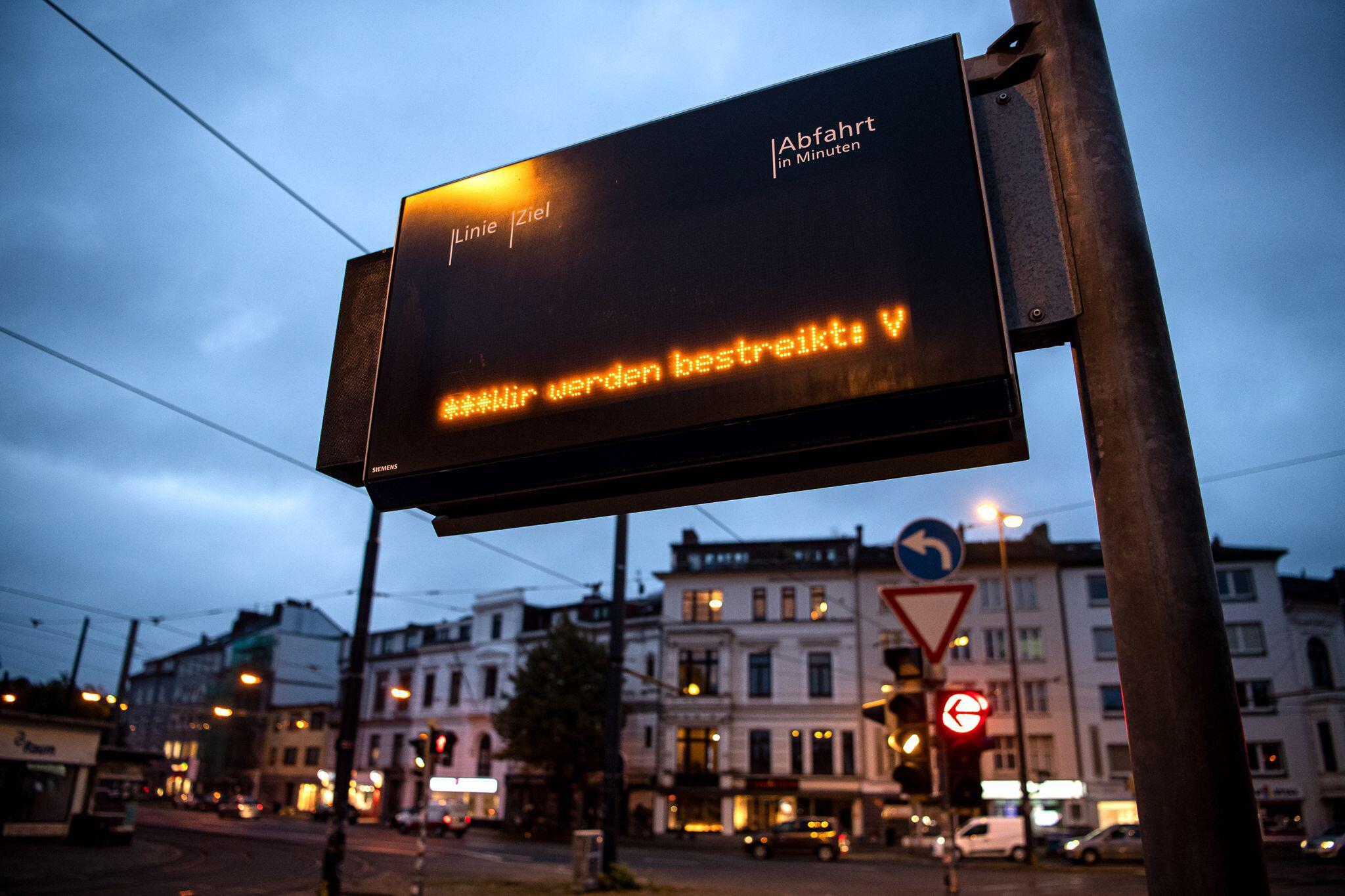 Bild zu Warnstreiks im öffentlichen Dienst - Bremen