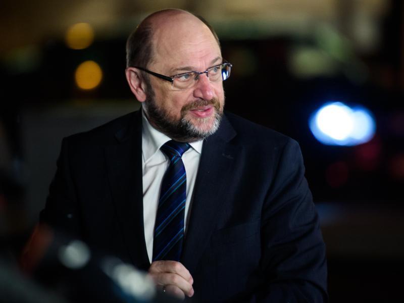Bild zu SPD-Chef Schulz