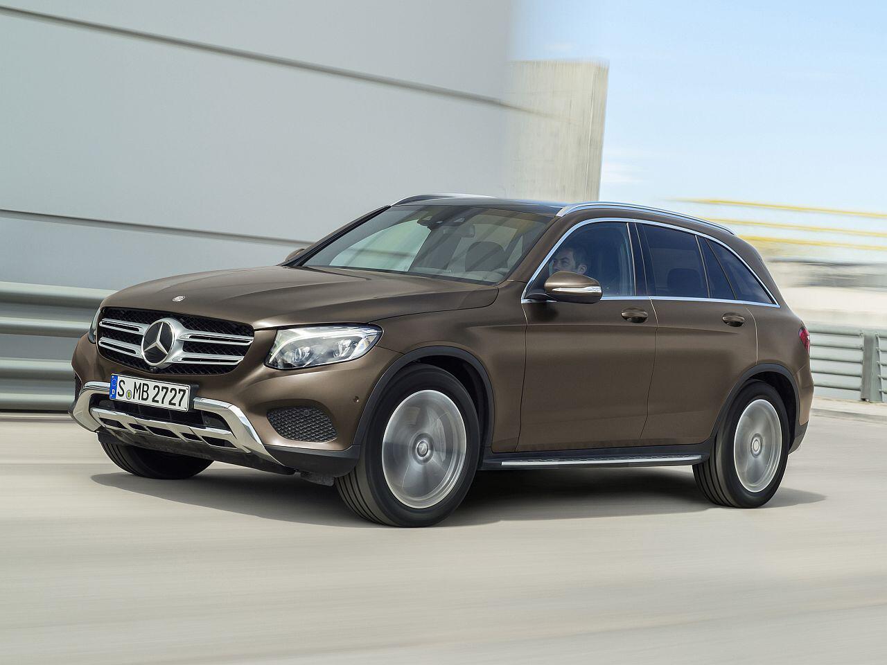 Bild zu SUVs: Mercedes-Benz GLC