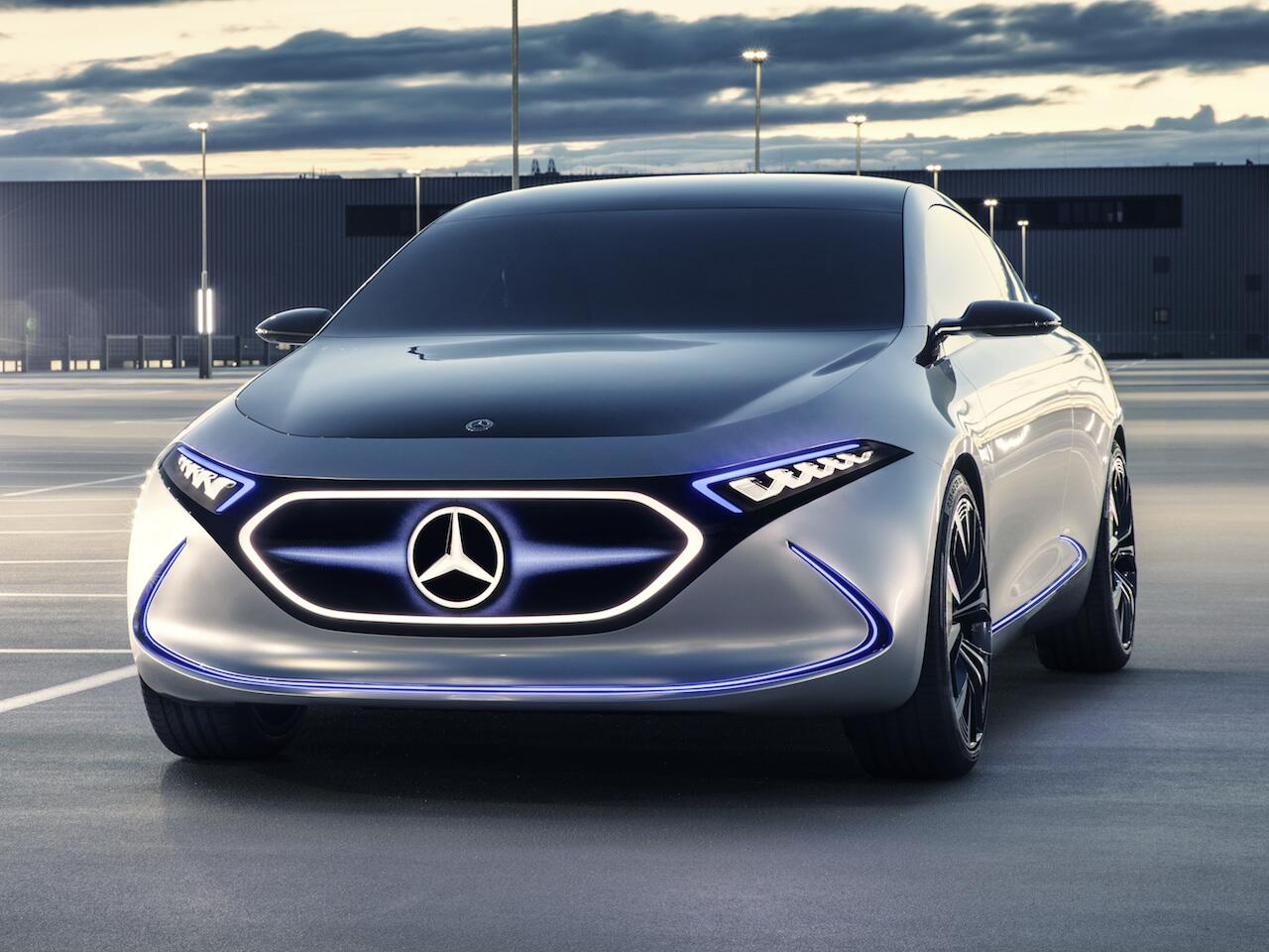 Bild zu Mercedes Concept EQA