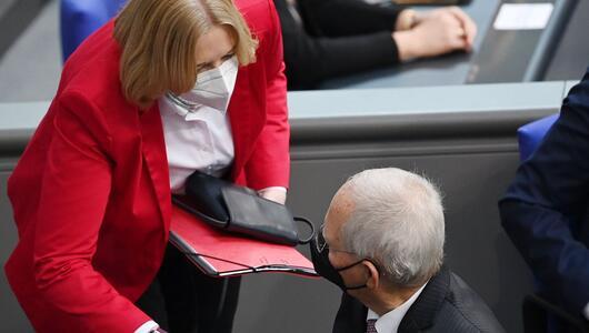 Konstituierende Sitzung des neuen Bundestags