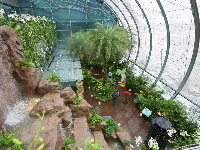 Bild zu Garten im Singapur-Changi