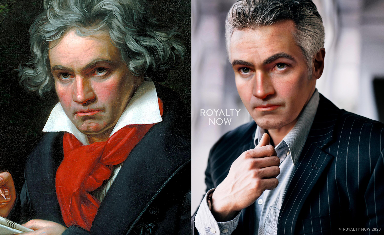 Bild zu Ludwig van Beethoven