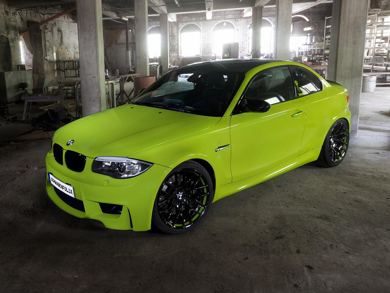 Bild zu Schwabenfolia BMW 1er M Coupé