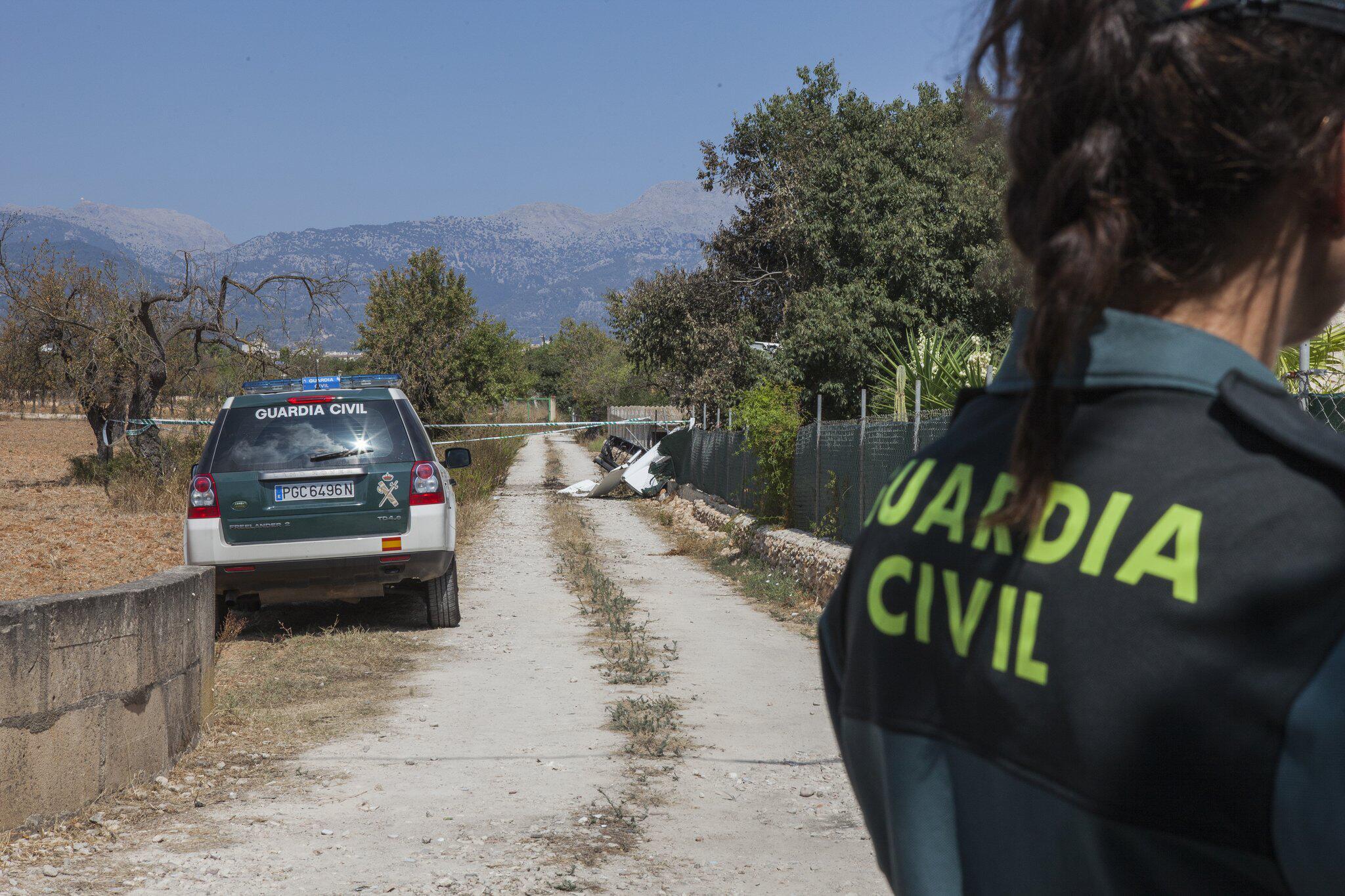 Bild zu Crash von Flugzeug und Hubschrauber über Mallorca