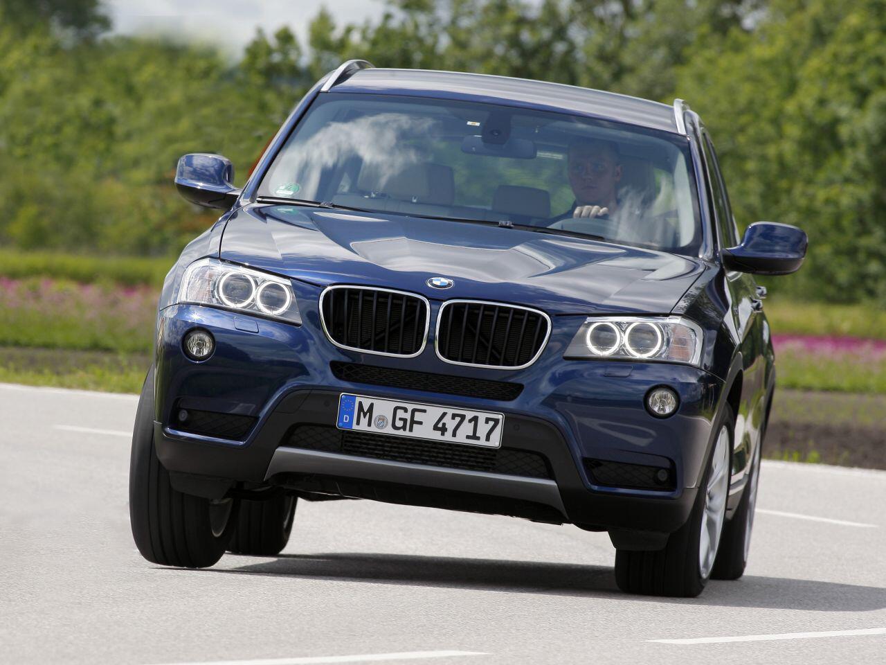 Bild zu BMW X3 2.0d im Test: Allround-Talent mit einem geringen Verbrauch