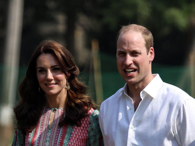 Bild zu Prinz William und Kate in Indien