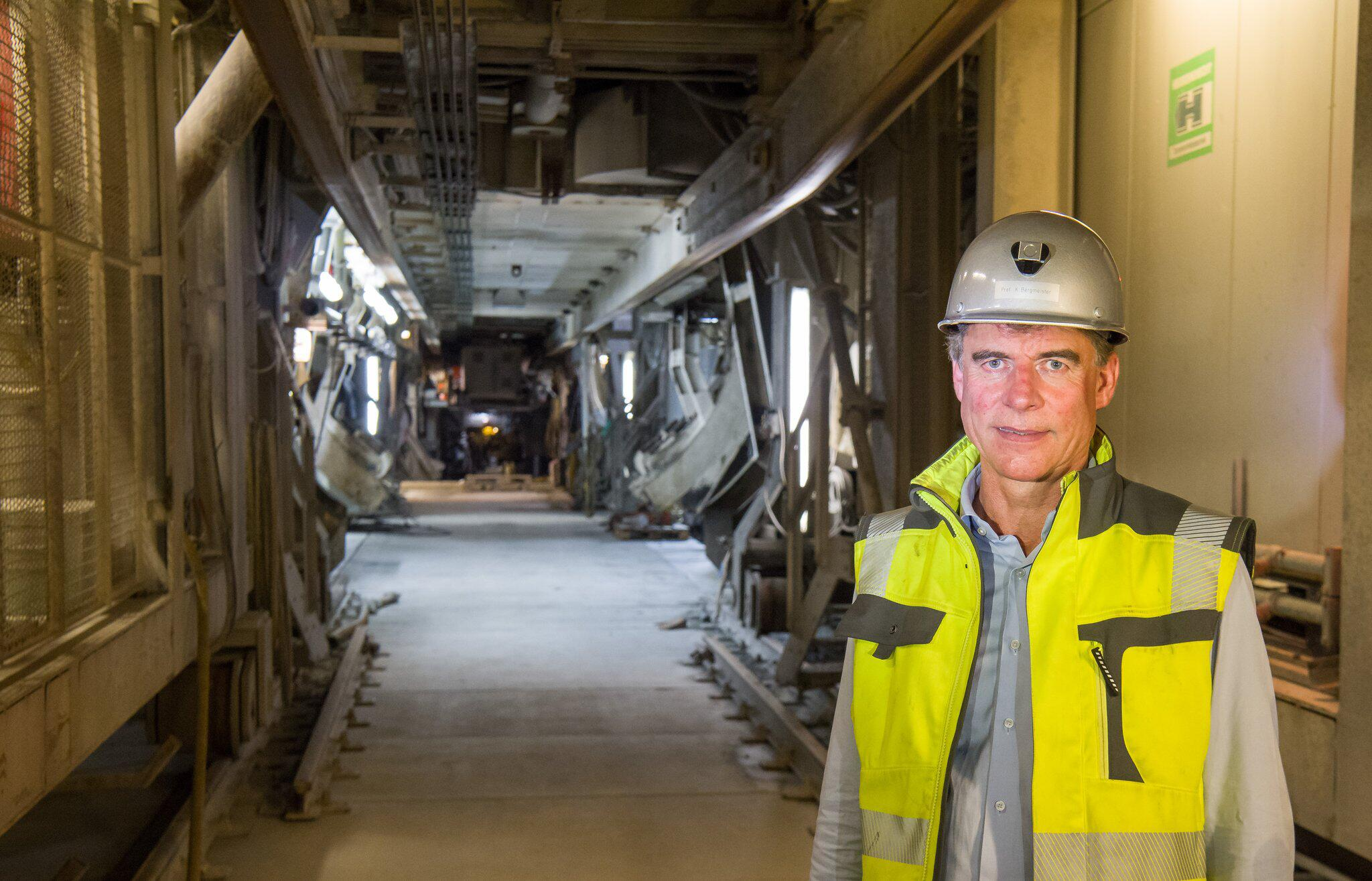 Bild zu Brenner Base Tunnel construction site