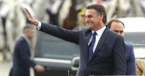 Amtseinführung von Brasiliens Präsident