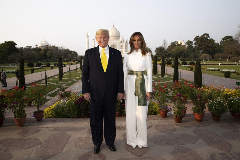 US-Präsident Trump in Indien