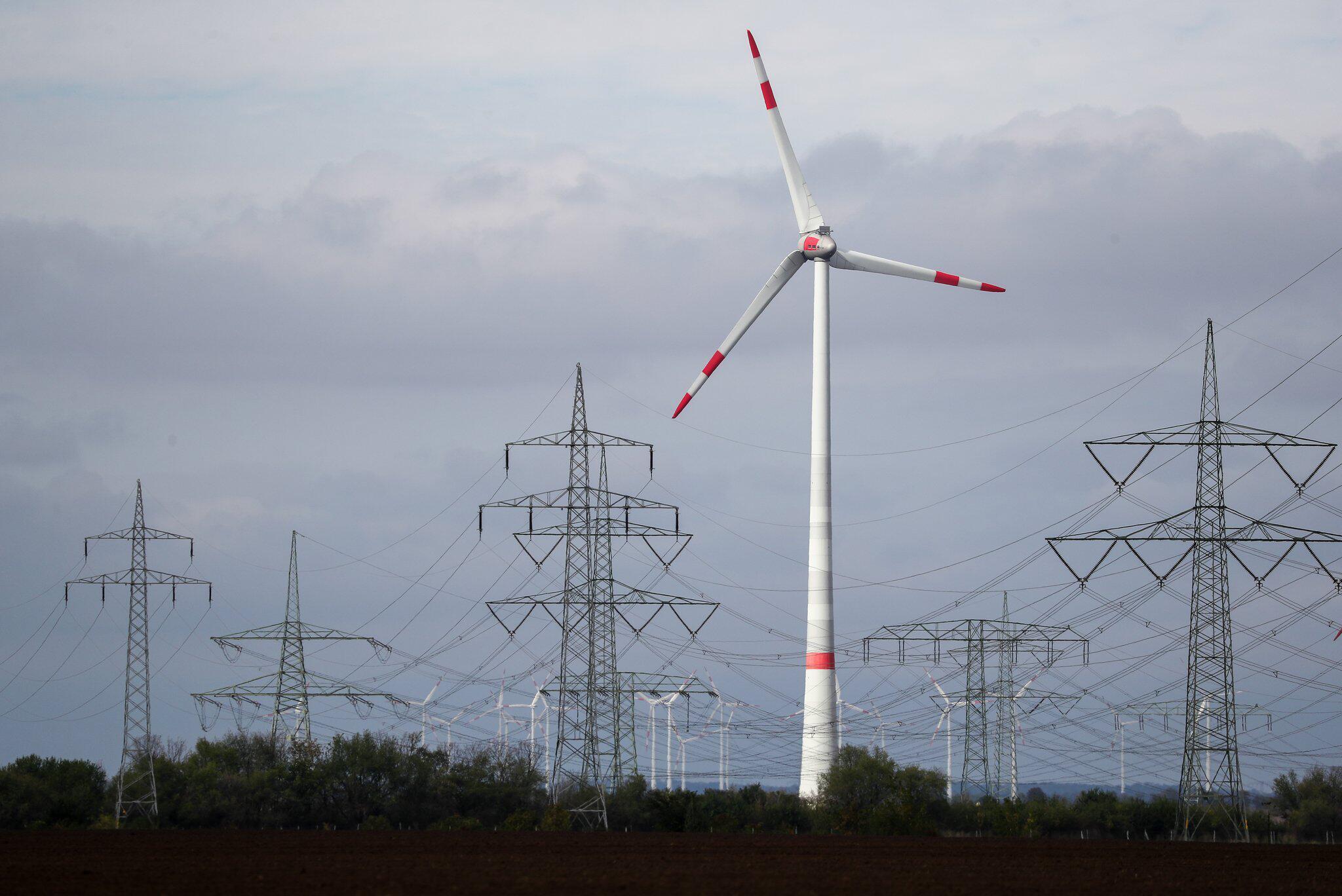 Bild zu Stromleitungen